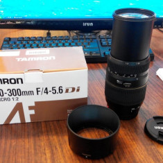 Obiectiv TAMRON 70-300mm F/4-5.6 pentru SONY / MINOLTA - Obiectiv DSLR Tamron, Tele, Autofocus