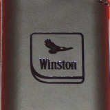 Bricheta Zippo Alta - Brichetă Winston, in piele, nouă