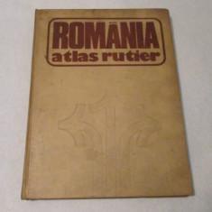 ROMANIA-ATLAS RUTIER - Harta Turistica