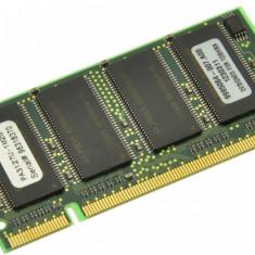 Memorie RAM laptop Toshiba, DDR, 256 MB - Memorie laptop 256MB DDR1 266 MHz (PC2100) Toshiba PA3127U-1M25, SODIMM 200 pini