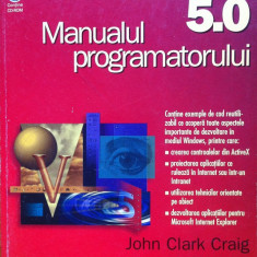 MICROSOFT VISUAL BASIC 5.0 MANUALUL PROGRAMATORULUI - Carte Limbaje de programare
