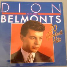 Muzica Rock Altele, VINIL - DION AND THE BELMONTS - 20 GREATEST HITS (1985 /BR REC /BELGIUM ) - DISC VINIL