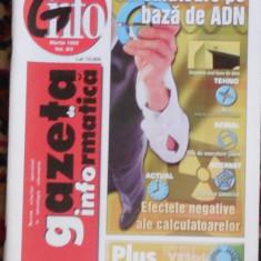 Gazeta de Informatica, martie 1999, nr 9/3 - Revista IT