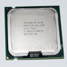 INTEL DUAL CORE E5200 2.5 GHZ, 775, 2.5GHZ, 2 MB + PASTA + GARANTIE 12 LUNI - Procesor PC, Intel, Intel Pentium Dual Core, Numar nuclee: 2, 2.5-3.0 GHz, LGA775