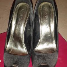 Pantofi casual - Pantof dama, Marime: 37.5, Culoare: Negru, Negru