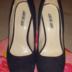 Pantofi casual - Pantof dama, Marime: 37, Culoare: Albastru, Albastru
