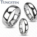 Inel Verigheta Simpla din Tungsten TCR-060
