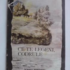 Carte educativa - Ce telegeni, codrule - Mihai Eminescu (ilustratii de Nicolae Alexi) / C32P
