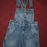 Salopeta blugi  Dungaree by H&M  mar.128
