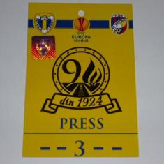 Bilet meci - Acreditare meci fotbal - PETROLUL Ploiesti - VIKTORIA Plzen - Europa League 2014
