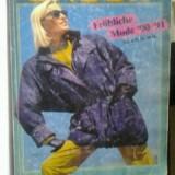 BADER Frohliche Mode '90/91 (Moda Vesela) -limba germana - Revista moda