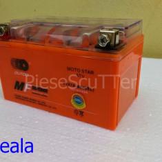 Baterie / acumulator Moto / Scuter / ATV 12v ( volti ) 7A ( amperi ) 12 v 7 A ( GEL ) L-14.5 / l-8.5 / H-9.5 - Baterie Moto