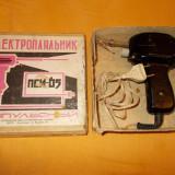 PISTOL DE LIPIT RUSESC LA CUTIE, NOU, 220V-100Va .fabricat in anul 1979,