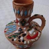 Arta Ceramica - Vas din ceramica greceasca lucrat manual