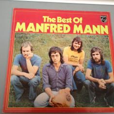 Muzica Rock universal records, VINIL - MANFRED MANN - THE BEST OF (1970/ PHILIPS REC/RFG) - DISC VINIL/PICK-UP/VINYL