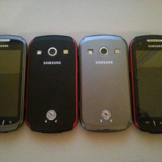 Samsung Galaxy Xcover 2 S7710, Red, Grey - Telefon mobil Samsung Galaxy Xcover 2, Neblocat