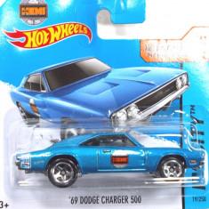 HOT WHEELS-REGULAR-SCARA 1/64-DODGE CHARGER 500 -++2501 LICITATII !! - Macheta auto