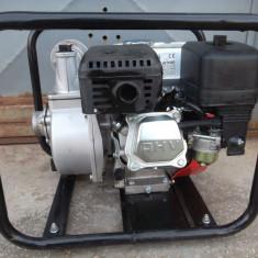 Pompa gradina, Motopompe - Motopompa pe benzina