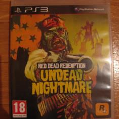 JOC PS3 RED DEAD REDEMPTION UNDEAD NIGHTMARE ORIGINAL / STOC REAL in Bucuresti / by DARK WADDER - Jocuri PS3 Rockstar Games, Actiune, 18+, Single player