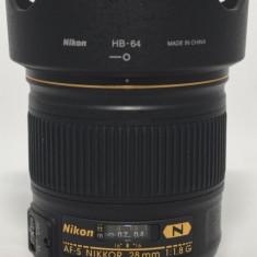 Obiectiv Nikon 28 mm, 1.8 Nano Crystal - Obiectiv DSLR Nikon, Autofocus