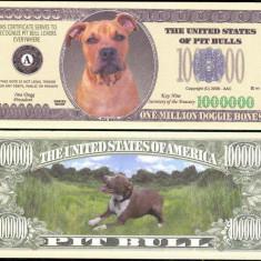 !!! SUA = FANTASY NOTE = PITBULL - 2008 - UNC