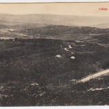 Zalau Zilah vedere a orasului de pe Meses ilustrata circulata in 1914 - Carte Postala Transilvania 1904-1918
