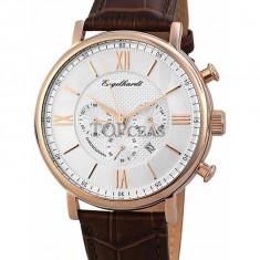 Ceas de lux Engelhardt Raymond Rose Gold Silver, original, nou, cu factura si garantie! - Ceas barbatesc Engelhardt, Quartz
