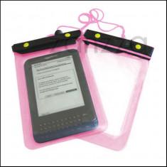 Husa Amazon Kindle 4 3 Paperwhite Touch Nook Color Sony PRS-350 waterproof rezistenta la apa