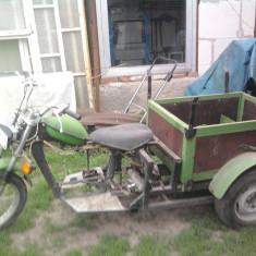 Triciclu cu motor simson 49