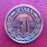 Medalii Romania - MEDALIE = 1953 - 1983 - INSTITUTUL DE PROIECTARI TRANSPORTURI AUTO, NAVALE SI AERIENE - IPTANA - ( NR 4444 )