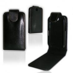 Husa toc LG Optimus Me p350 + folie ecran + expediere gratuita Posta - sell by PHONICA, Negru, Piele Ecologica