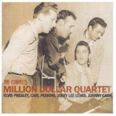 CD Rock: The Complete Million Dollar Quartet ( Elvis Presley, Carl Perkins, Jerry Lee Lewis, Johnny Cash ) - Muzica Rock & Roll