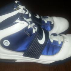 Nike Lebron Second Hand Nr 48.5 Stare Buna - Adidasi barbati Nike, Culoare: Alb, Piele sintetica