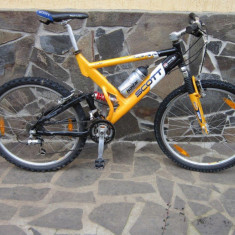Mountain Bike Scott, 18 inch, 26 inch, Numar viteze: 24, Aluminiu, MTB Full Suspension - Vand Scott Full Suspension