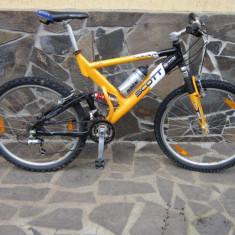 Vand Scott Full Suspension - Mountain Bike Scott, 18 inch, 26 inch, Numar viteze: 24, Aluminiu, MTB Full Suspension