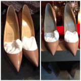 Pantofi stiletto Louboutin - Pantof dama, Marime: 36, 37, 38, 39, 40, 35, Culoare: Alb, Bej, Crem, Negru, Rosu