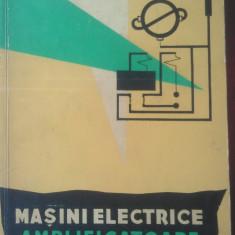 Carti Electrotehnica - Masini electrice amplificatoare in sistemele automate - V.V. Rudakov ( NR 4444 )