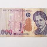 ROMANIA 50000 50.000 LEI 2000 seria 001B6298717 **, An: 2000