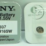 baterie Sony 337 SR416SW  baterie casti copiat baterie casca copiat sistem de copiat baterii pentru microcasca , microcasca japoneza ,baterie sony NOU