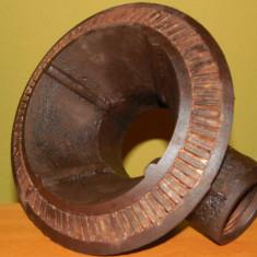 Metal/Fonta - ARZĂTOR DE ARAGAZ, MARE & VECHI, FONTĂ MASIVĂ, NECURĂȚAT, IDEAL PT SOBE, 3.5 KG!