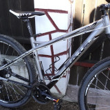 BICICLETA exte superflow - Mountain Bike CrossBike, 19 inch, 29 inch, Numar viteze: 24, Aluminiu, Negru-Gri