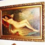 TABLOU NUD SEMNAT ASZTALOS GYULA ORIGINALA - Pictor roman, Ulei, Impresionism