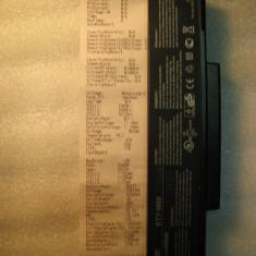 Baterie MSI BTY-M66 10.8V 1642/4400mAh Life 37% MSI M655 M660 M665 M670 VR600 - Baterie laptop Msi, 6 celule