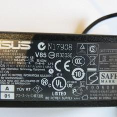 Alimentator laptop original Asus model ADP-40PD AB 19v 2.1A incarcator notebook cs689 - Incarcator Laptop Asus, Incarcator standard