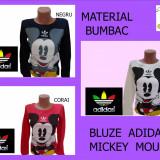 BLUZE DAMA ADIDAS-MICKEY  MOUSE ,MATERIAL BUMBAC ,LIVRARE GRATUITA