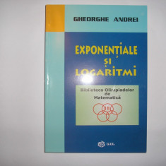 EXPONENTIALE SI LOGARITMI  GHEORGHE ANDREI,rf4/2