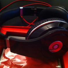 Beats Studio negre originale in stare foarte buna - Casti Beats Studio Monster Beats by Dr. Dre