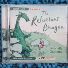 THE LITTLE DRAGON - KENNETH GRAHAME (BBC AUDIO - CD PENTRU COPII, original din Anglia, in stare impecabila!!!) - Audiobook