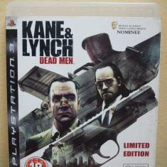 Kane & Lynch: Dead Men (PS3) (ALVio) + sute Jocuri PS3 Eidos ( VAND / SCHIMB ), Actiune, 18+