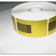 Gel unghii - SABLOANE pentru Constructie Unghii - 500 buc